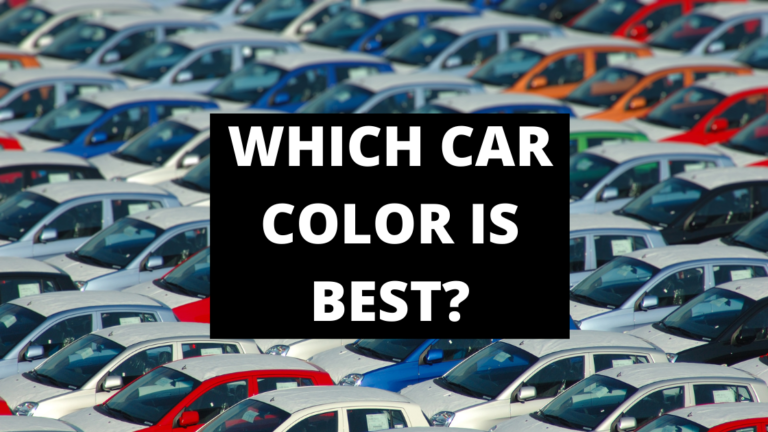 which car color is best