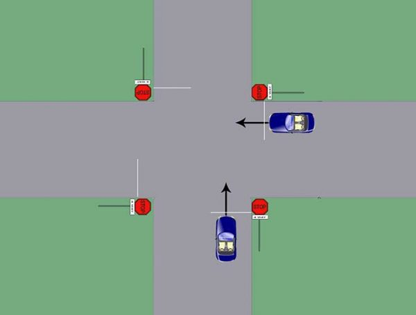 Why Do We Yield To The Right Not The Left When Driving