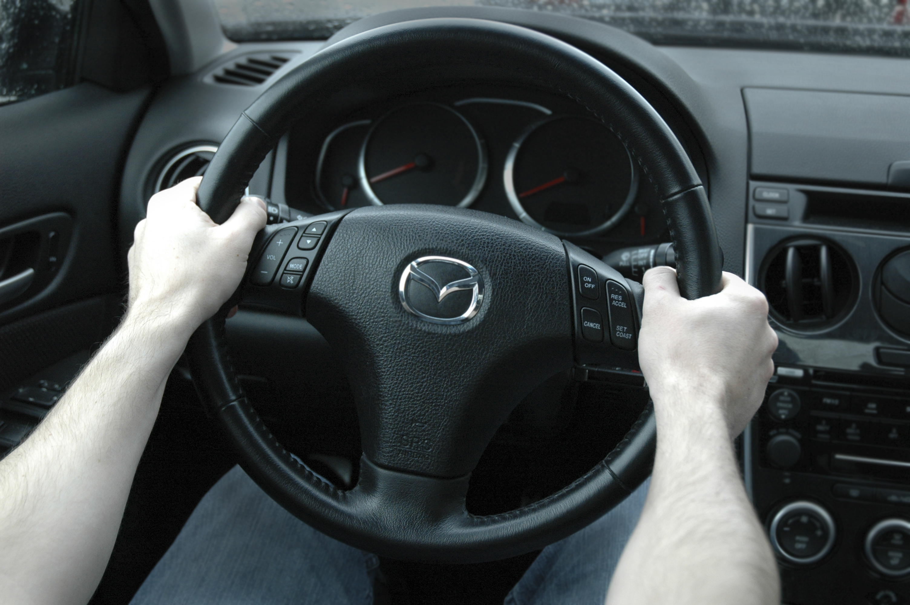 how to hold and not hold your steering wheel. Black Bedroom Furniture Sets. Home Design Ideas