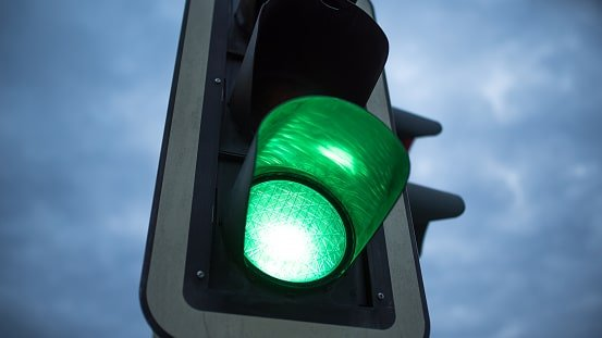 Image result for traffic light green