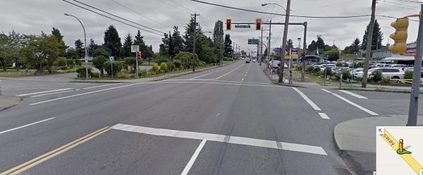 Intersections: Pedestrian-Controlled Traffic LightsOne Way Street Intersection