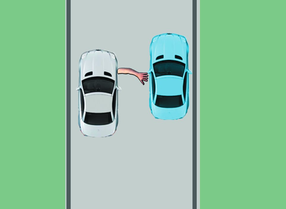 how to park the car