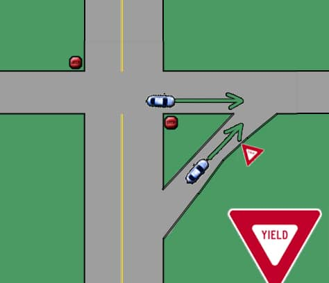 how to change lanes when driving