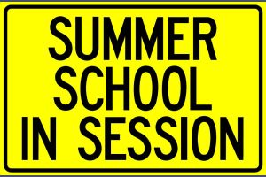 summer school in session