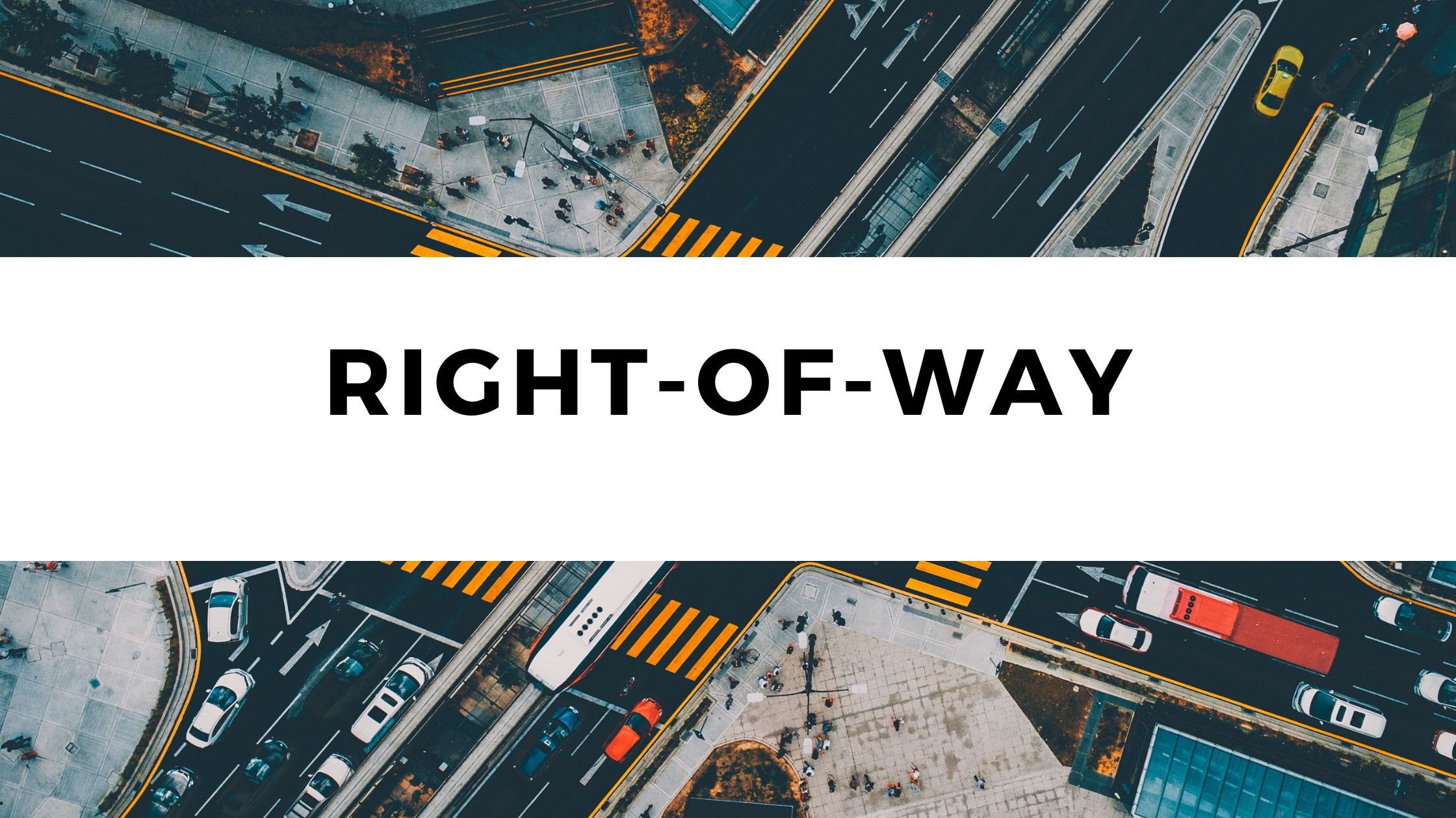 Right Of Way Rules For Driving – From a Driving Instructor