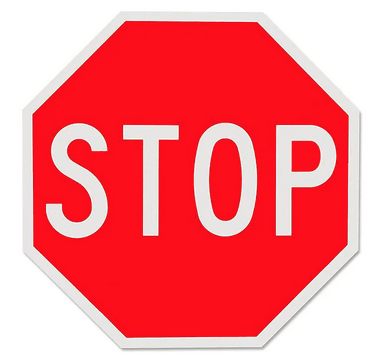 road signs of canada stop sign
