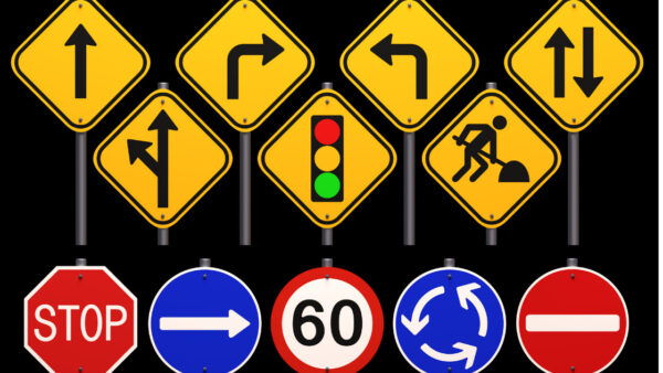 road signs in canada