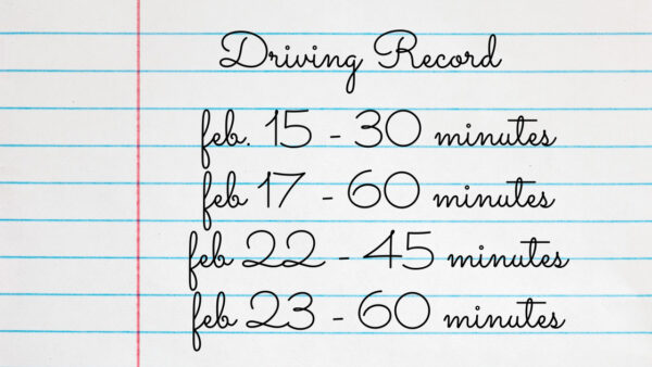 amount of time to learn driving