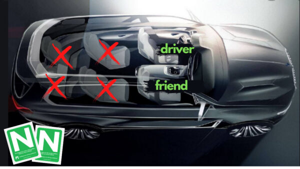 n driver restrictions friends