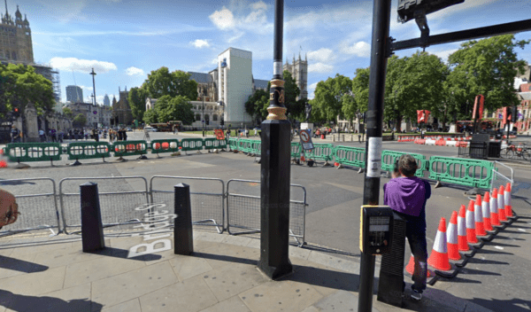 Westminster London Intersection