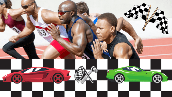 race car drivers are athletes