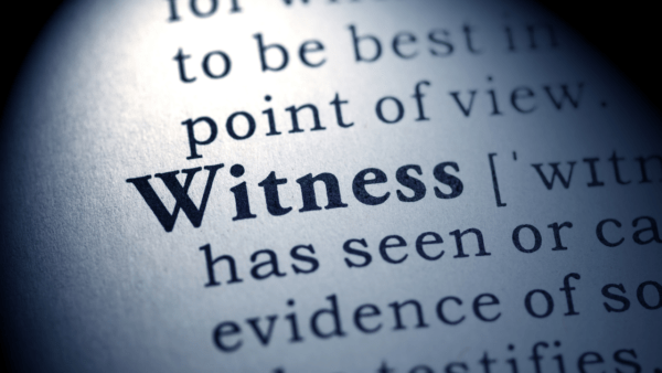 gather witness information after a car accident