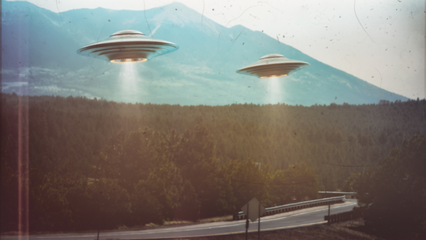 UFO driving distraction